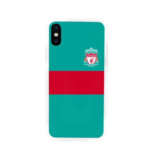 Чехол для Apple iPhone X силиконовый глянцевый  Фото 01, FC Liverpool