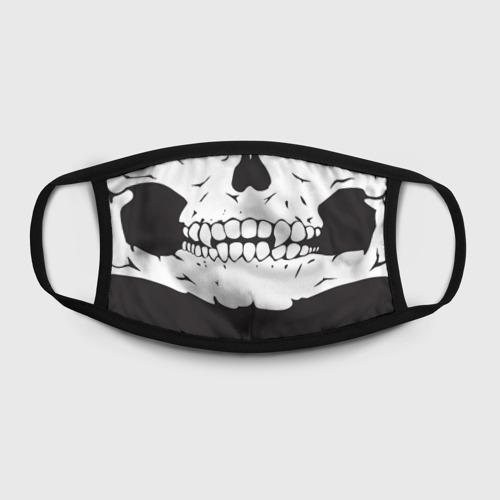 Маска защитная (+5 фильтров) Череп маска черная Фото 01