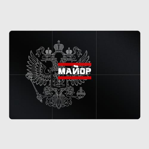 Магнитный плакат 3Х2 Майор, белый герб РФ Фото 01