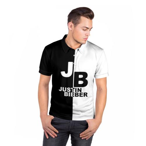 Мужская рубашка поло 3D  Фото 05, Justin Bieber