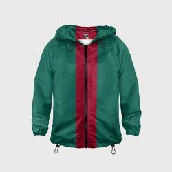 Зеленый/бордовый