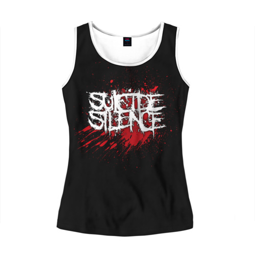Женская майка 3D Suicide Silence