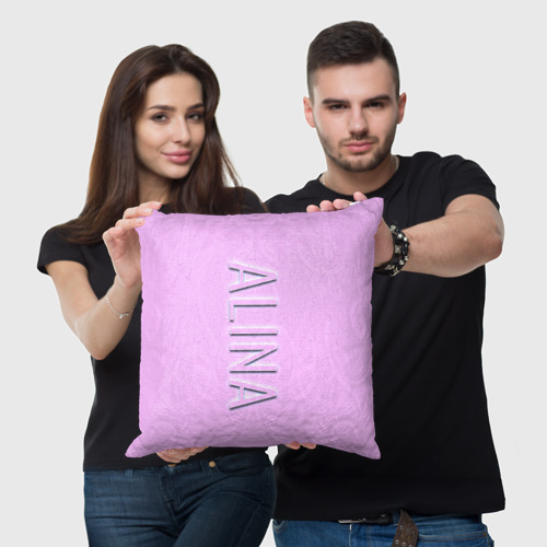 Подушка 3D  Фото 05, Alina-pink