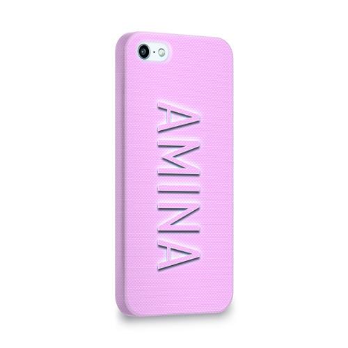 Чехол для Apple iPhone 5/5S 3D  Фото 02, Amina-pink