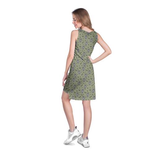 Платье-майка 3D  Фото 04, камуфляж - волки