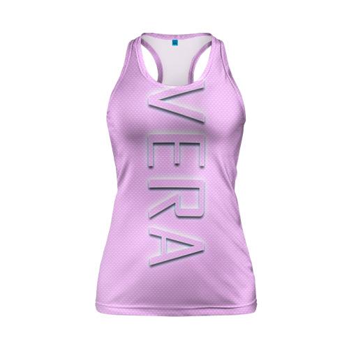 Женская майка 3D спортивная  Фото 01, Vera-pink