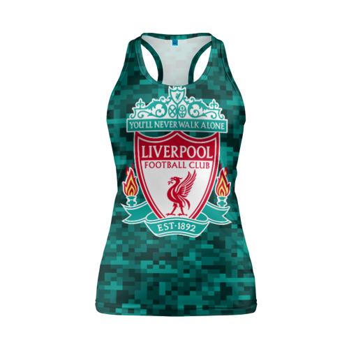Женская майка 3D спортивная  Фото 01, Liverpool FC