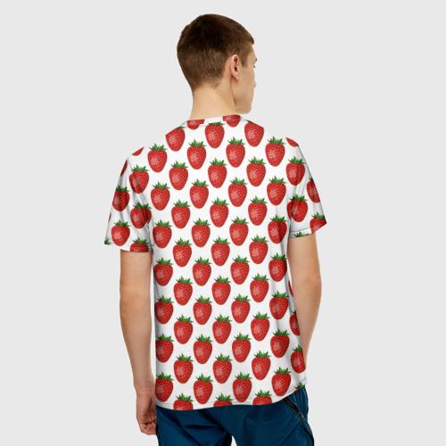 Мужская футболка 3D  Фото 02, клубничка