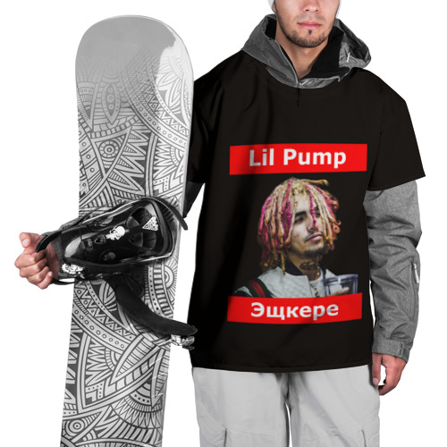 Накидка на куртку 3D  Фото 01, Lil Pump - 104