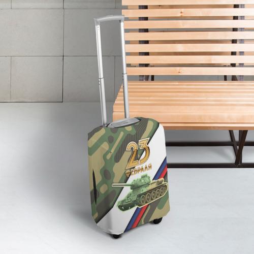 Чехол для чемодана 3D  Фото 03, Танк 23