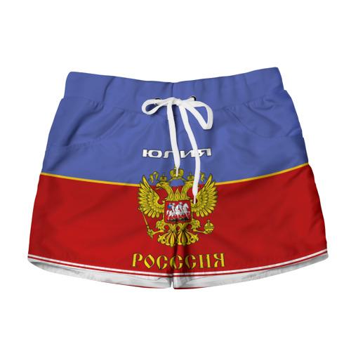 Женские шорты 3D Хоккеистка Юлия