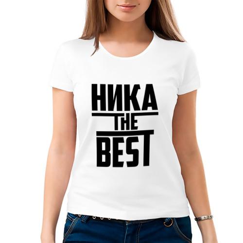 Женская футболка хлопок  Фото 03, Ника the best