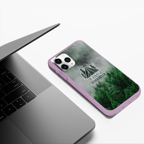 Чехол для iPhone 11 Pro Max матовый Сибирь Фото 01