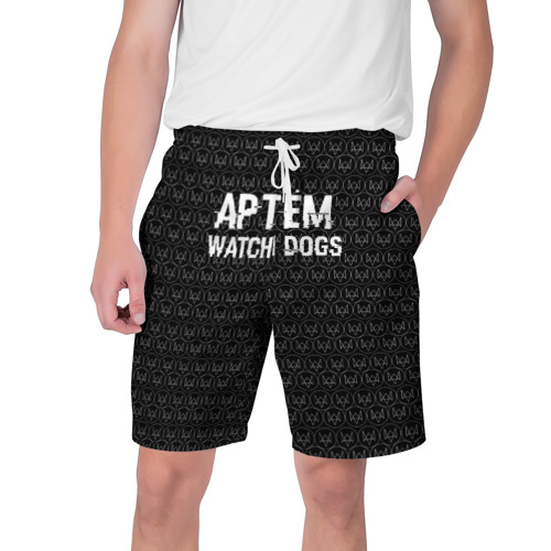 Мужские шорты 3D Артём Watch Dogs