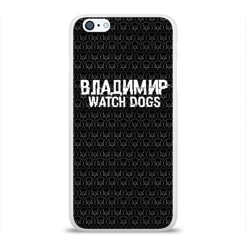 Чехол для Apple iPhone 6Plus/6SPlus силиконовый глянцевый  Фото 01, Владимир Watch Dogs