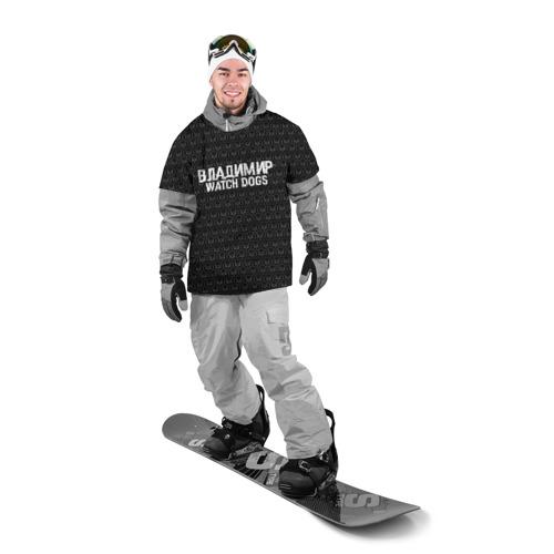 Накидка на куртку 3D  Фото 03, Владимир Watch Dogs