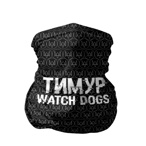 Бандана-труба 3D Тимур Watch Dogs Фото 01