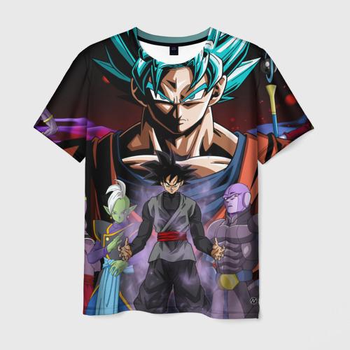 Мужская футболка 3D  Фото 03, Темный Гоку