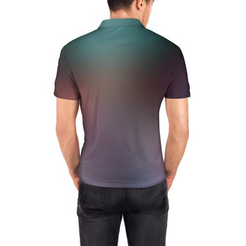 Мужская рубашка поло 3D  Фото 04, Темный Гоку