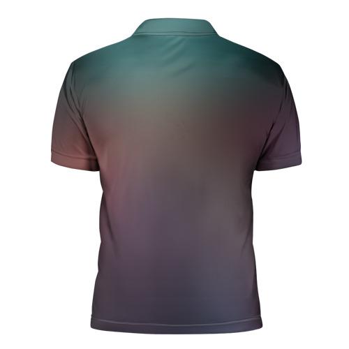 Мужская рубашка поло 3D  Фото 02, Темный Гоку
