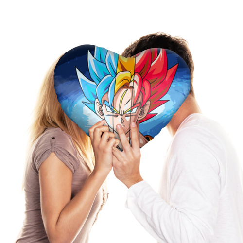 Подушка 3D сердце  Фото 03, Color
