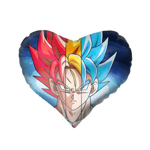 Подушка 3D сердце  Фото 02, Color