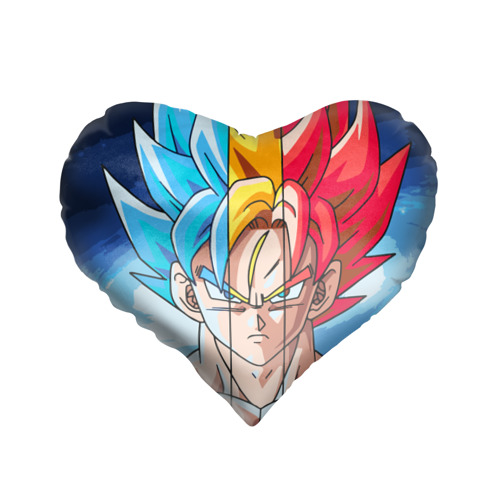 Подушка 3D сердце  Фото 01, Color