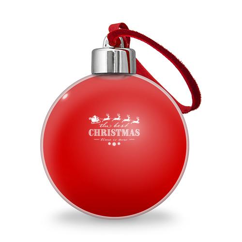 Ёлочный шар  Фото 01, The best Christmas