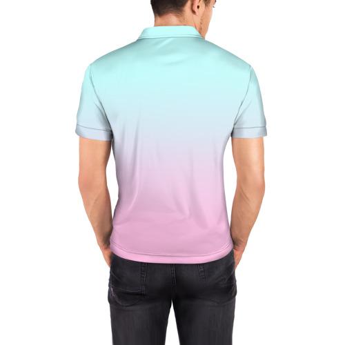 Мужская рубашка поло 3D  Фото 04, Funny PUG