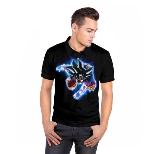 Мужская рубашка поло 3D  Фото 05, Dragon Ball
