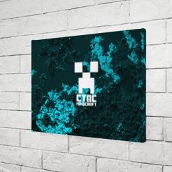 Стас в стиле Minecraft