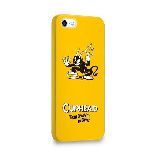 Чехол для Apple iPhone 5/5S 3D  Фото 02, Cuphead