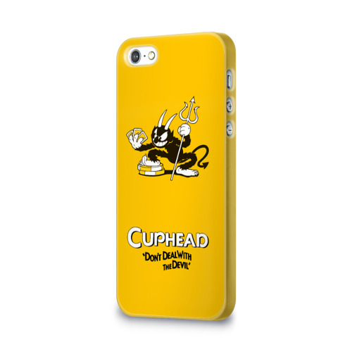 Чехол для Apple iPhone 5/5S 3D  Фото 03, Cuphead
