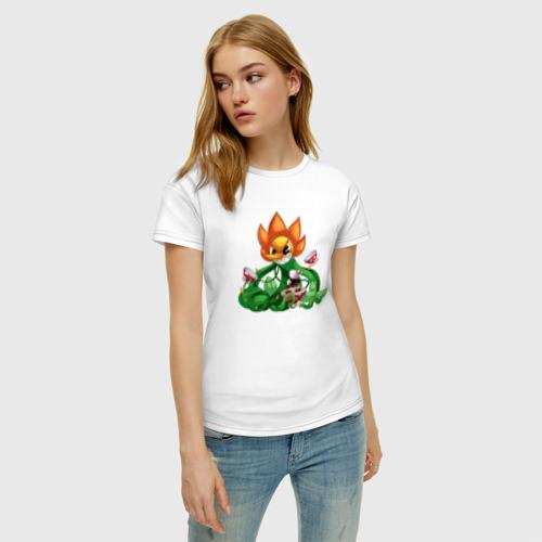 Женская футболка хлопок Cuphead Фото 01