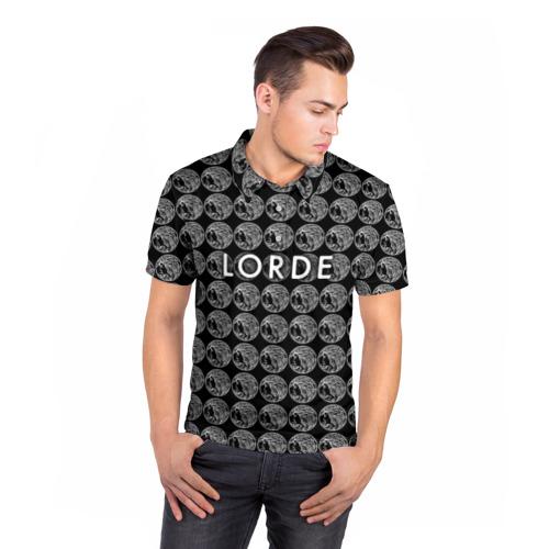 Мужская рубашка поло 3D  Фото 05, Lorde