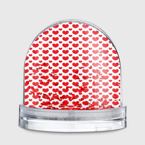 Водяной шар  Фото 02, Красные сердечки