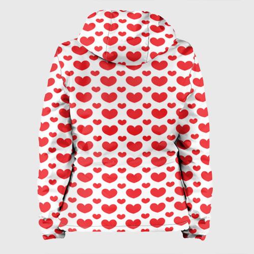 Женская куртка 3D  Фото 02, Красные сердечки