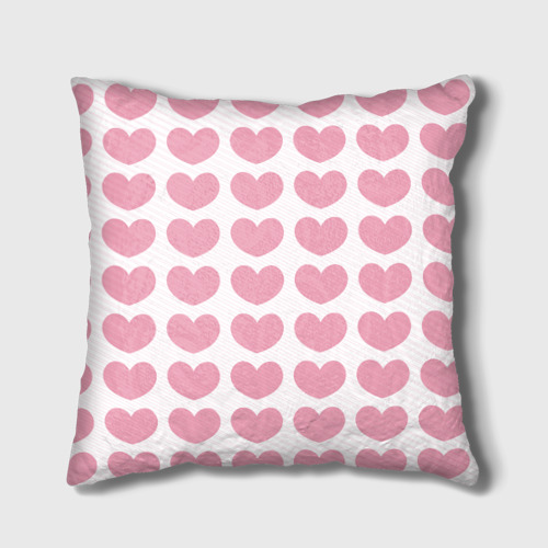 Подушка 3D  Фото 02, Милые сердечки