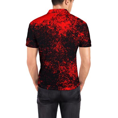 Мужская рубашка поло 3D  Фото 04, Олег в стиле Wolfenstein