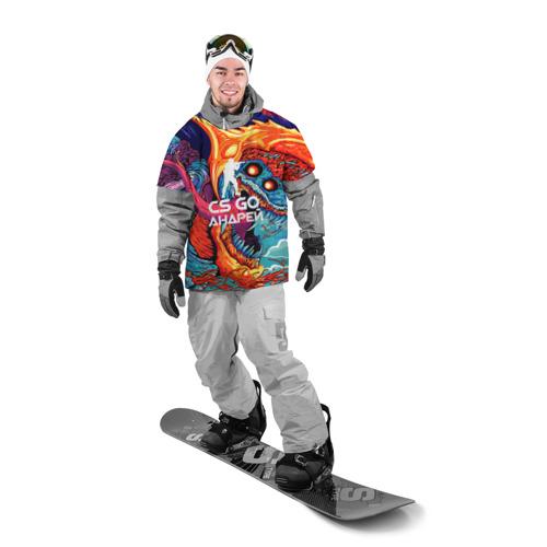 Накидка на куртку 3D  Фото 03, Андрей в стиле CS GO
