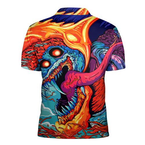 Мужская рубашка поло 3D  Фото 02, Андрей в стиле CS GO