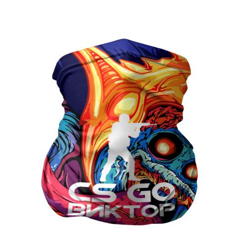 Бандана-труба 3D Виктор в стиле CS GO