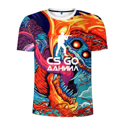 Мужская футболка 3D спортивная  Фото 01, Даниил в стиле CS GO