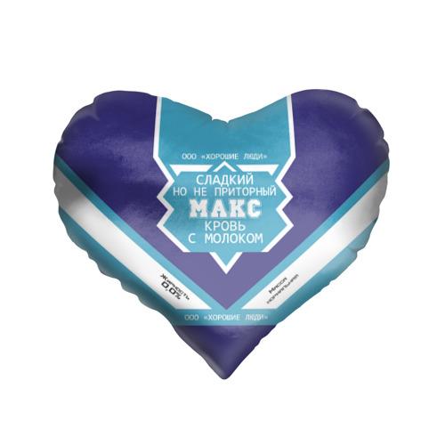 Подушка 3D сердце  Фото 01, Макс - банка сгущенки
