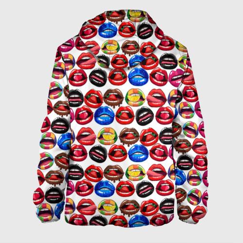 Мужская куртка 3D  Фото 02, Lips Pattern