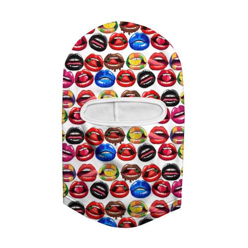 Балаклава 3D  Фото 02, Lips Pattern