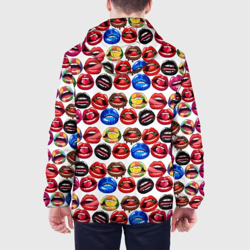 Мужская куртка 3D  Фото 05, Lips Pattern