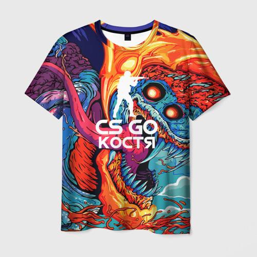 Мужская футболка 3D  Фото 03, Костя в стиле CS GO