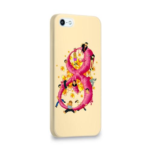 Чехол для Apple iPhone 5/5S 3D  Фото 02, Женский день