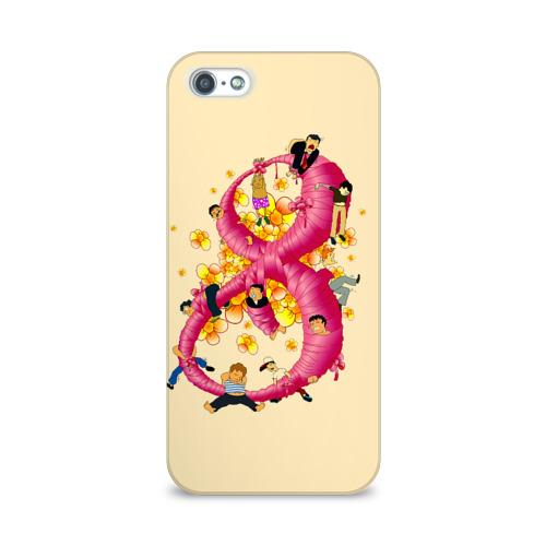 Чехол для Apple iPhone 5/5S 3D  Фото 01, Женский день